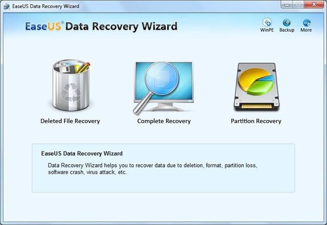 Phục hồi dữ liệu phần mềm