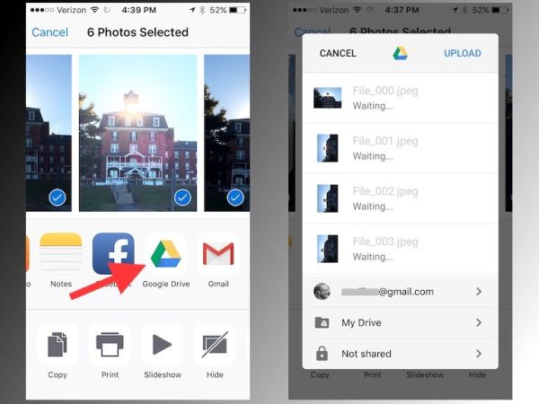 [Detailed Guide] How to Back Up iPhone Photos with Google ...