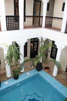 Riad Africas large plunge pool