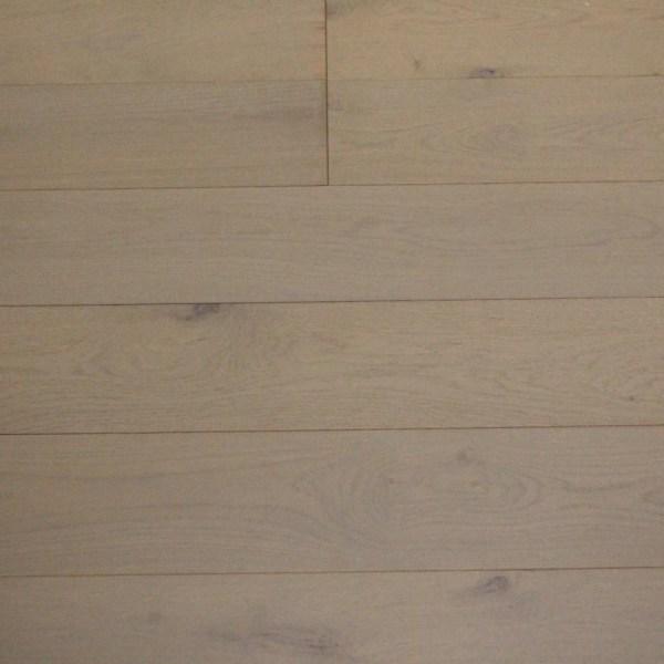 Parquet contrecollé chene - Gris Perle - 13,5 x 150 mm