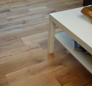 [Echantillon] Parquet chene naturel clipsable - 18 x 150 mm