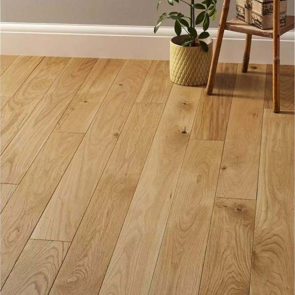 parquet chene massif naturel 15 x 125 mm