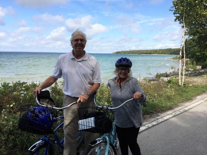 Joe and Helen - Mackinac Island, MI