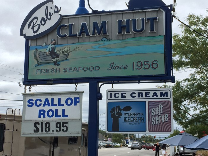 Bob's Clam Hut, Kittery, ME