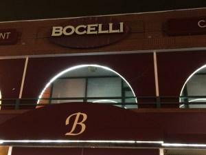 Bocelli sign