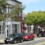 Plymouth, MA street scene