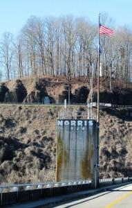 Elevator Tower on Norris Dam