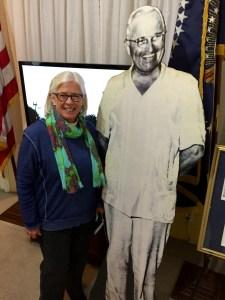 Helen and President Truman - Little White House