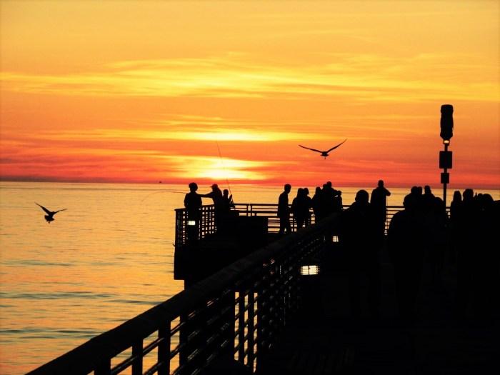 Sunset at Hermosa Pier
