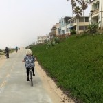 Biking on the Strand