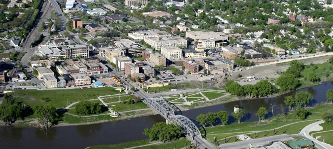 Grand Forks, ND…Going Downtown for a little Down Time