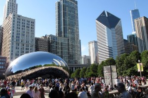 Millennium Park, Chicago - Cloud Gate
