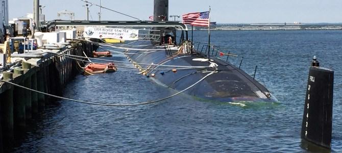 Easin' Along Tours the USS Boise – Nuclear Powered Submarine