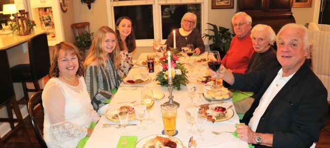 Thankful and Stuffed…A Family Fest