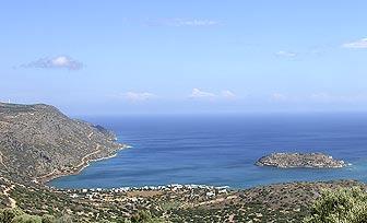 Plaka Near Elounda Crete Greece