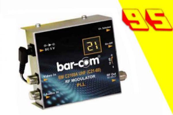 جهازتحويل الاجهزة الرقمية الى نظام ال UHF يعمل على جميع اجهزة التلفاز