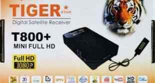 TIGER T800+ Mini Full HD مع تحديث جديد من الموقع الرسمي بتاريخ 25-2-2017