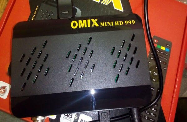 سوفت وير جديد لجهاز Omix 999 Mini HD داعم لخاصية سات تيوب