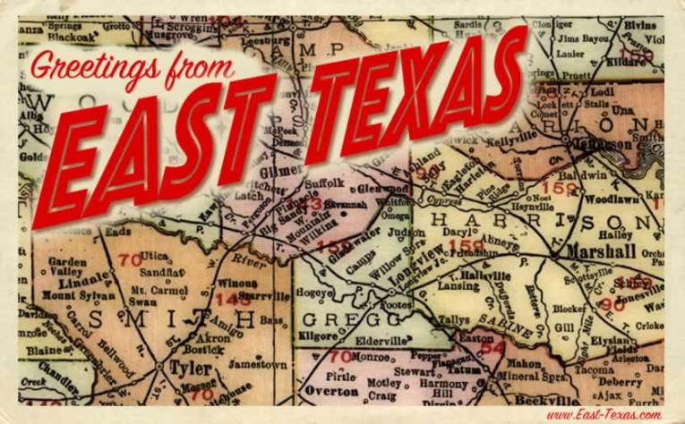 East Texas maps  maps of East Texas counties  list of Texas counties East Texas Maps and Counties