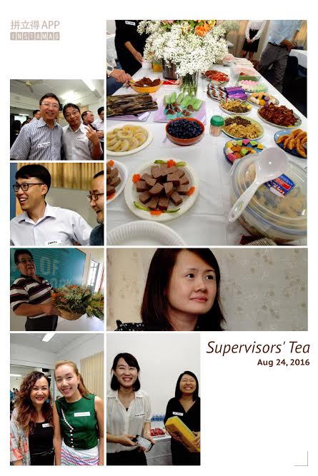 Field Supervisors' Tea 2016