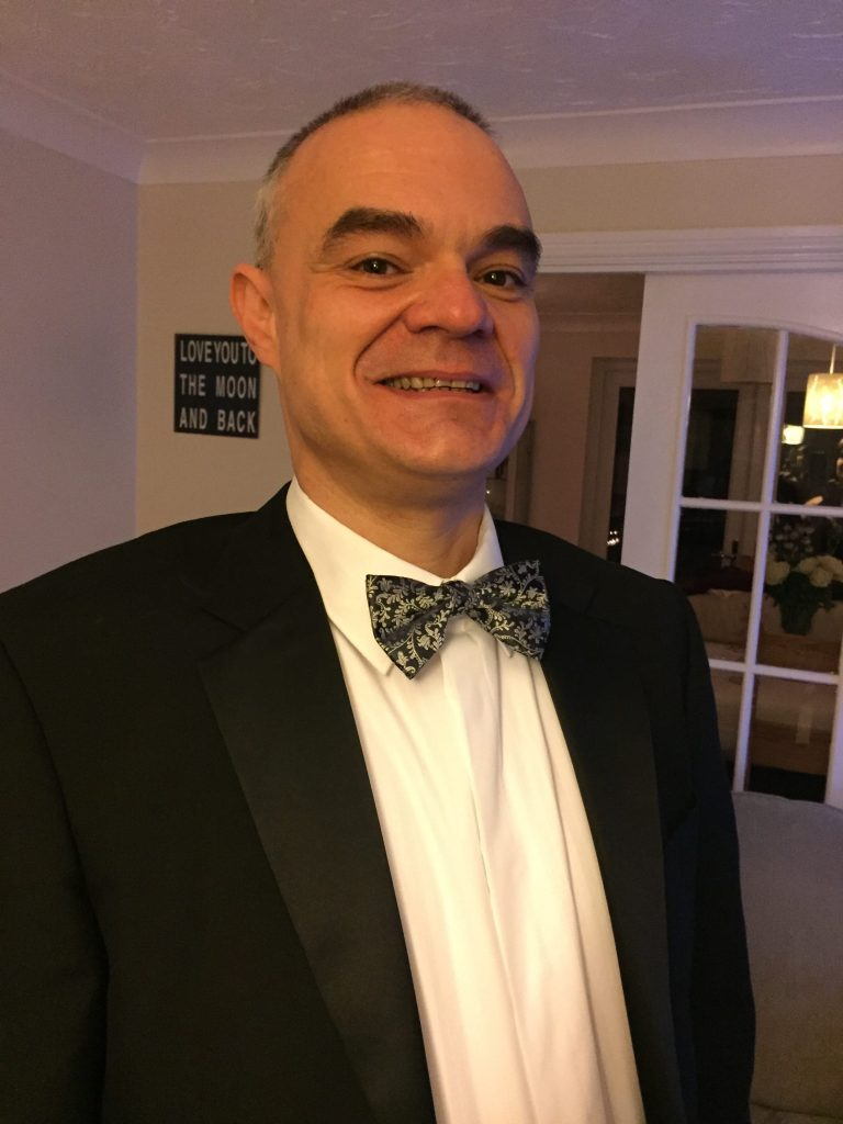 Experienced DJ Robin Tungate - Norwich Wedding DJ