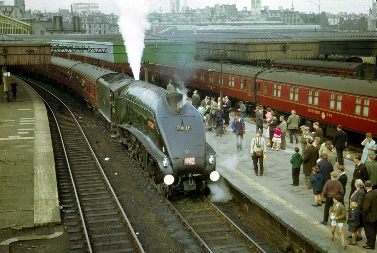 Image result for aberdeen railway station 1960