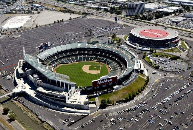 Map California Bay Area Oakland Raiders