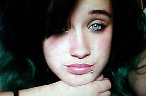 This undated photo provided by the Santa Barbara County Sheriff's Office shows Pearl Pinson. Authorities are hoping to find the missing teenage girl alive as they frantically search a wide swath of California for her Friday, May 27, 2016, a day after the man suspected of abducting her died in a shootout with police. (Santa Barbara County Sheriff's Office via AP)
