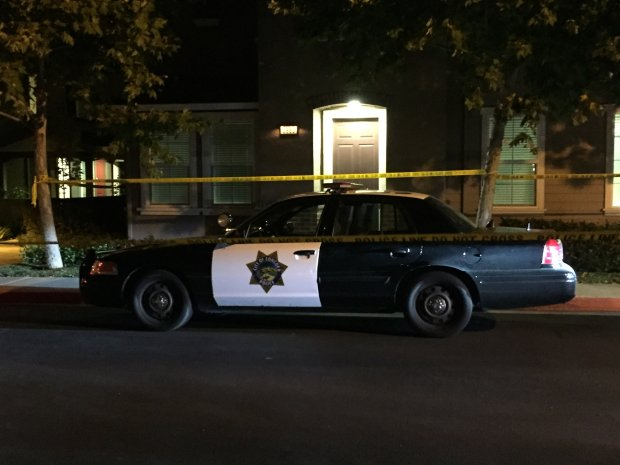Concord police are investigating a shooting Wednesday night in the 2900 block of Bella Drive in Concord. (Nate Gartrell/Bay Area News Group)
