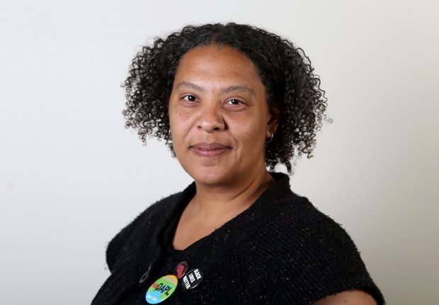 Berkeley City Council candidate Nanci Armstrong-Temple poses for a photograph in Oakland, Calif., on Thursday, Sept. 29, 2016. (Anda Chu/Bay Area News Group)