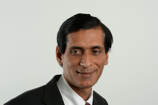 Richmond city council candidate Vinay Pimple photographed in studio in Walnut Creek, Calif., on Thursday, Oct. 6, 2016. (Dan Honda/Bay Area News Group)