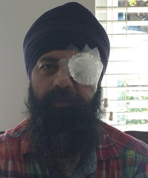 Richmond resident Maan Singh Khalsa, 41, was attacked by three men at a Richmond intersection on Sept. 25. A civil rights group is calling for hate crime charges for his attackers, who cut off his religiously-mandated unshorn hair during the assault