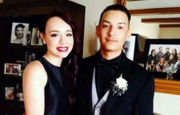 Photo of Alex Vega and his girlfriend Michela Gregory who are reported missing from the GhostShip fire in Oakland in Saturday, December 3, 2016. Photo courtesy of David Vega, older brother of Alex Vega