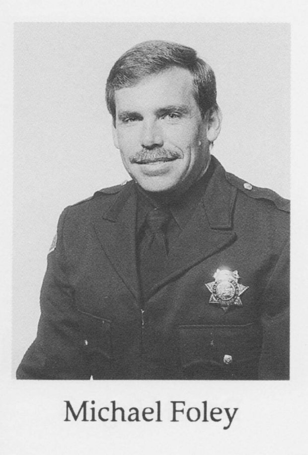 Alameda County Sheriff's Deputy Mike Foley started his 30-year law enforcement career at the Concord Police Department as a cadet. (Concord Police Department)