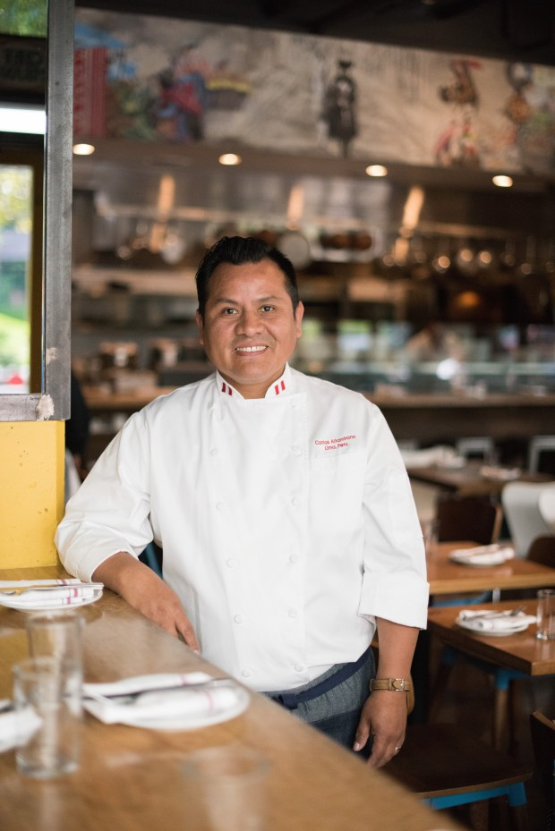 Bay Area chef Carlos Altamirano, the restaurateur behind Parada in Walnut Creek, La Costanera in Montara, Mochica and Piqueos in San Francisco, and the Sanguchon food trucks.