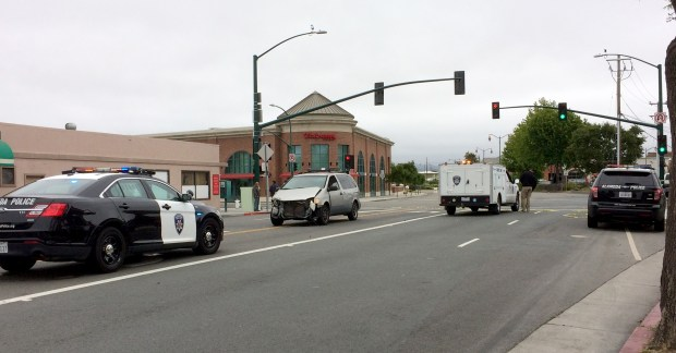 Car Accident Alameda Park Street