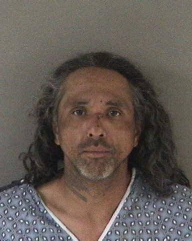 Hayward police released this booking photo of 43-year-old Union City resident Victor Rubio, who is suspected of dousing customers with a flammable liquid at a Denny's restaurant in Hayward on May 17, 2017.