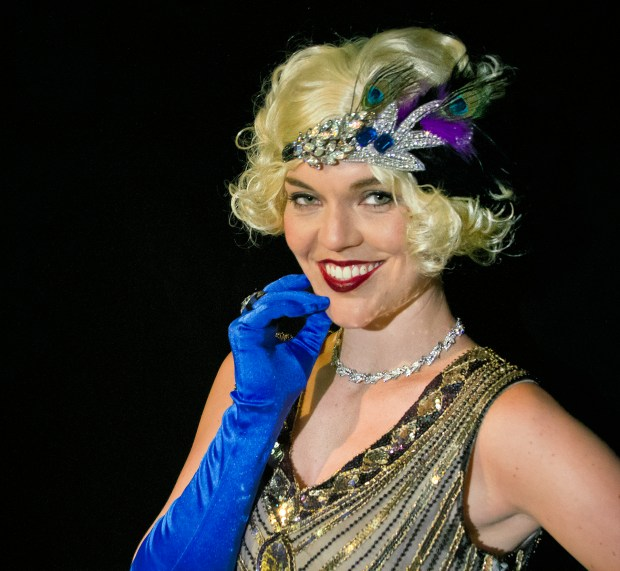"Cindy Head plays Marion Davies, mistress to famed newspaper owner William Randolph Hearst, in the second offering of Altarena's Alternative Season, ""Castle Happy,"" which is set in Hearst Castle. ""Castle Happy"" will be performed from July 20-30."