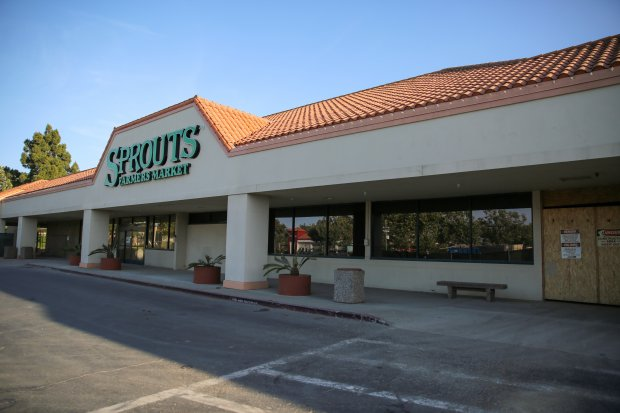 Sprouts Famers Market is opening a new location in Newark, in the formerspace of Raley's Supermarket in the Four Corners commercial area of the city. Company officials said the store is set to open on July 12, 2017. (Photo by Joseph Geha/The Argus)