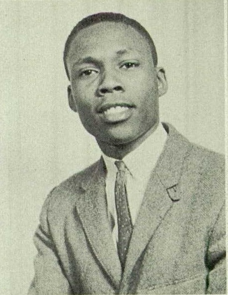 Harvey Vincent Prince's yearbook photo from Paul Laurence Dunbar High School in Baltimore, Maryland in 1957.