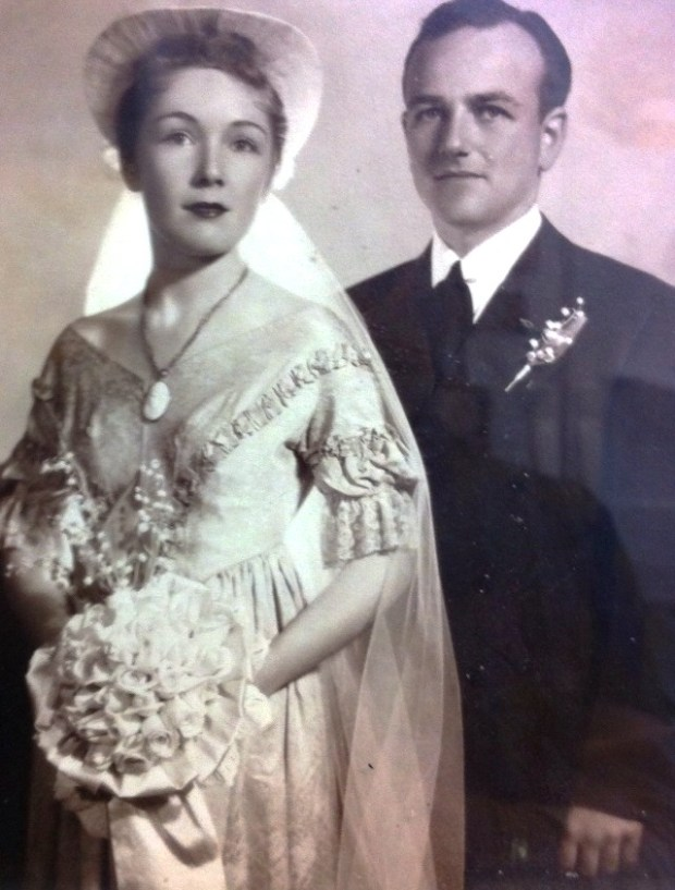 courtesy of Lucy KetchamLucy Ketcham, seen here when she married Boise Ketcham on June 1, 1940, recently marked her 100th birthday.