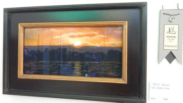 "Marti Walker of West Sacramento won the 2017 Alameda Award for her pastel, ""The Golden Hour."" (Courtesy of Charles Lopez Sr.)"