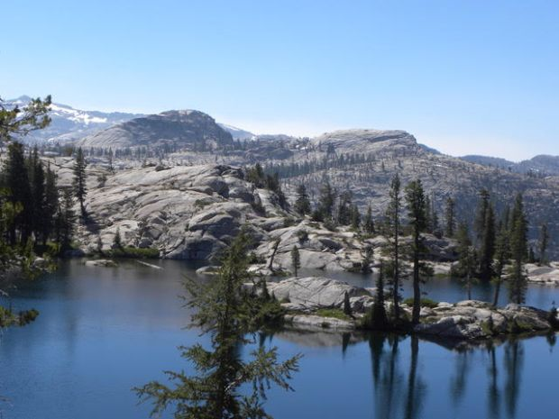Before he lost his way Aug. 12, Igor Skaredoff made it to Red Can Lake, in the Emigrant Wilderness east of Pinecrest.