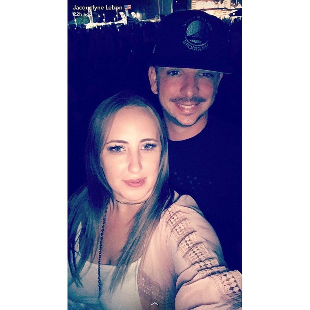 Jacquelyne and Jason Lebon took this selfie Sunday night at 10:03 p.m.,while at the Route 91 Harvest country music festival, just mere minutes before the thousands in attendance started being shot at by a single shooter in the Mandalay Bay Resort and Casino in Las Vegas. (Courtesy Jacquelyne Lebon)
