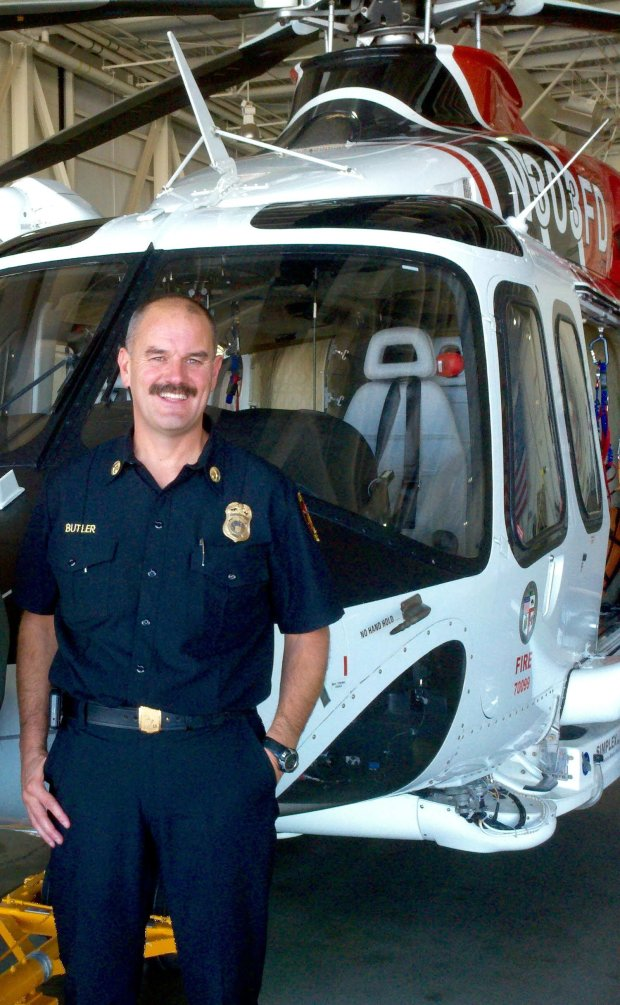Los Angeles Assistant Fire Chief Patrick Butler was offered the OaklandFire Department chief position in August but turned it down over a disagreement in salary. (Courtesy Patrick Butler)