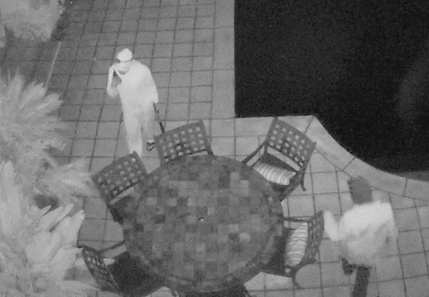 The Contra Costa Sheriff's Office shared this image Monday, November 6, 2017 of an Alamo home burglary captured by surveillance cameras Friday, November 3.