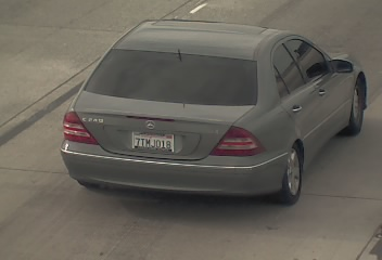 A photo of the vehicle Brayan Zavala, 19, of Antioch is said to be driving. (Courtesy Contra Costa Sheriff's Office)