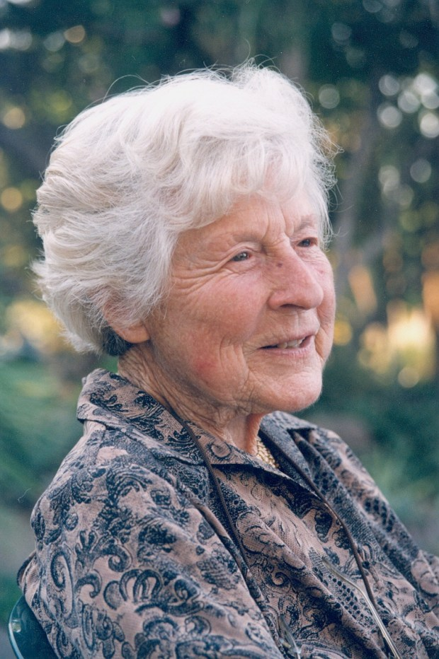 Ruth Bancroft, beloved founder of the world-renowned Ruth Bancroft Garden, passed away Sunday, Nov. 26, 2017 at her home in Walnut Creek, California, at the age of 109.   Ruth Bancroft was a collector and skilled plantswoman who created numerous gardens around her home, the most notable of which became a public garden and plant nursery.(Contributed/Dennis Galloway)