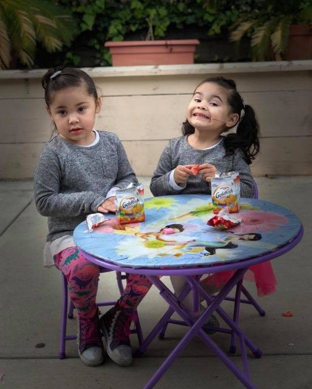 Lenexy Cardoza, 4, left, died in an accident Wednesday that left her sister Camila Cardoza, 2, right, seriously injured. (Courtesy of the Cardoza family)