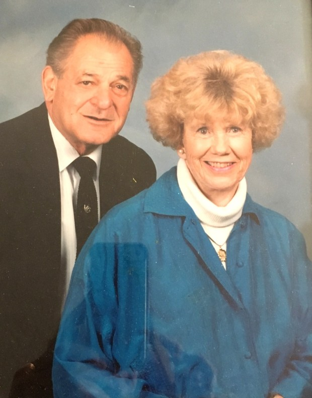 """Anthony """"Lil"""" and Norma Arnerich were married 68 years. They met on a baseball field when Lil was 14 and he was a ballplayer and Norma was the scorekeeper. (Courtesy of the Arnerich family)"""